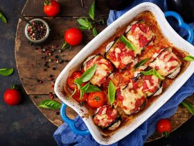 domates soslu fırında sebze bahçesi