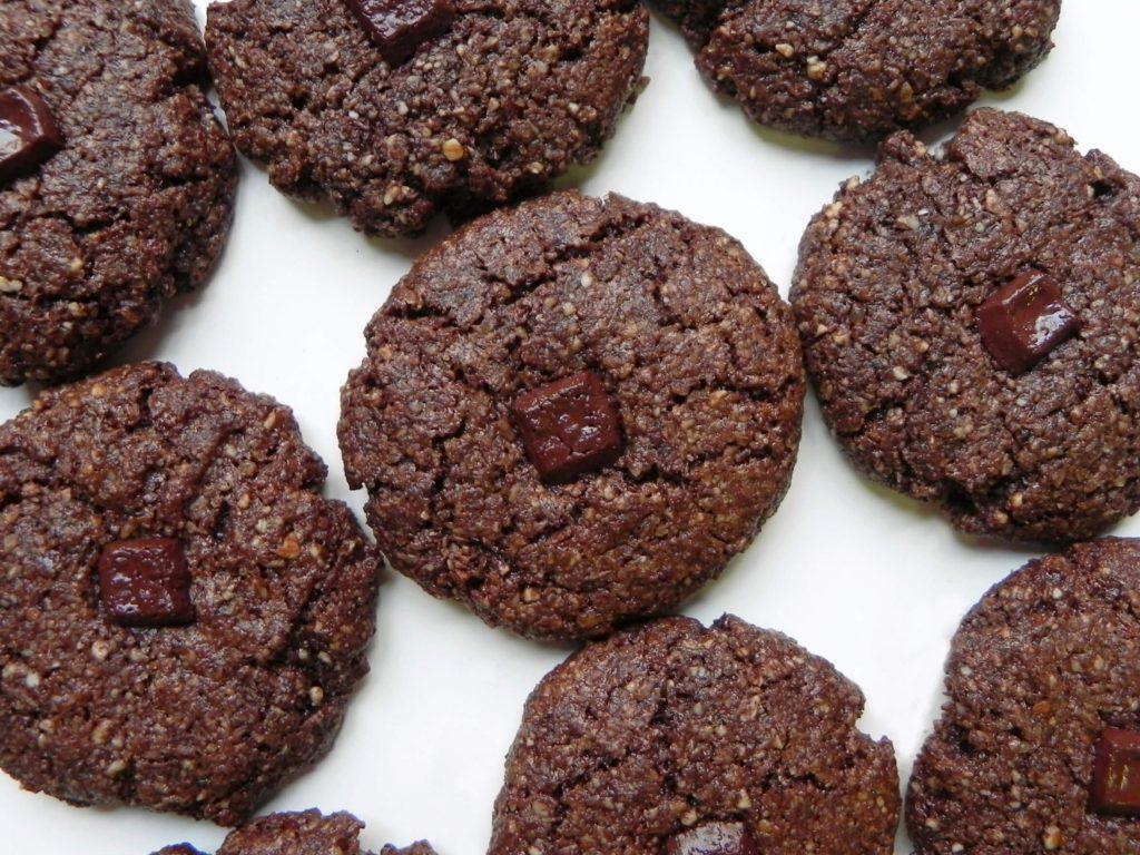 vegan çikolatalı kurabiye