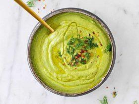 sütsüz brokoli çorbası