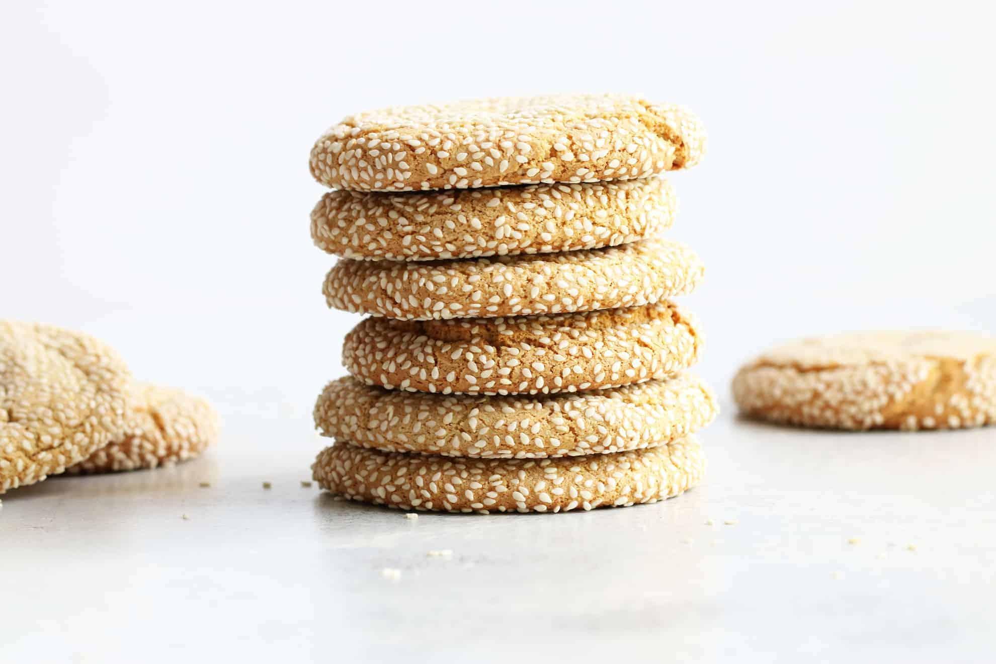 tahinli tuzlu kurabiye