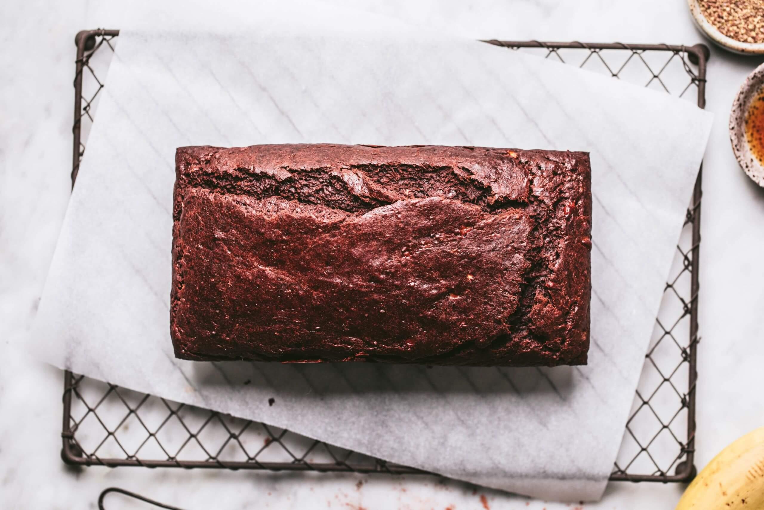 çikolatalı fındıklı vegan kek