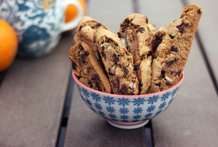 fıstık ezmeli vegan biscotti