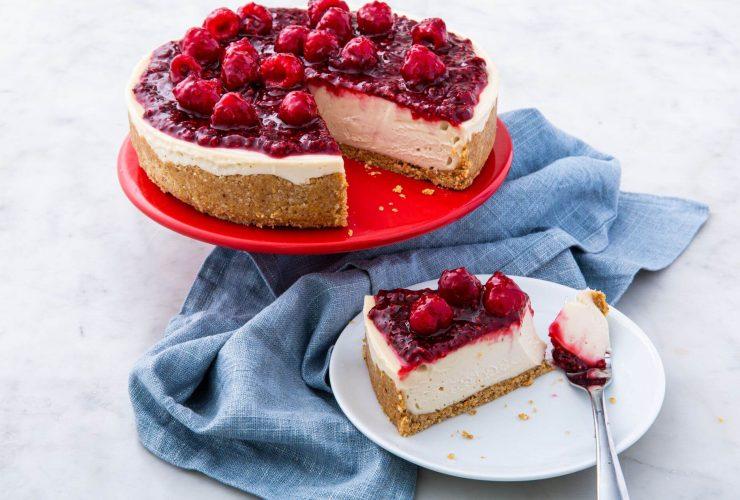 vegan cheesecake tarifi