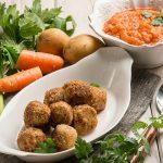vegan patlıcanlı köfte