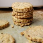 fesleğenli vegan kurabiye