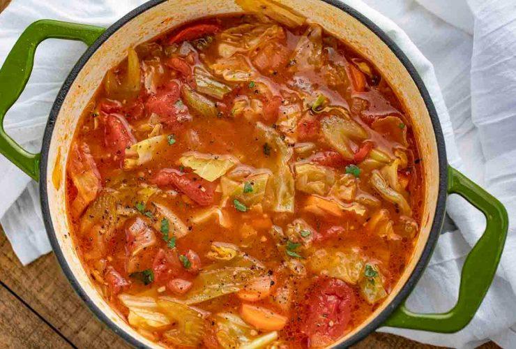 lahana çorbası