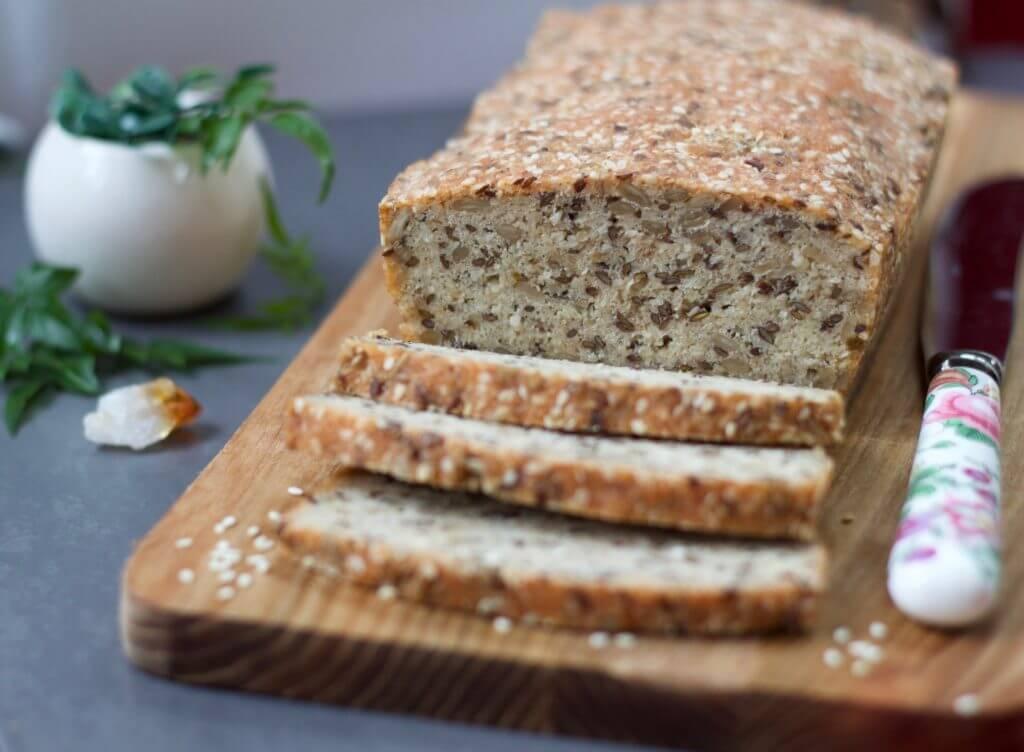 vegan mercimekli ekmek