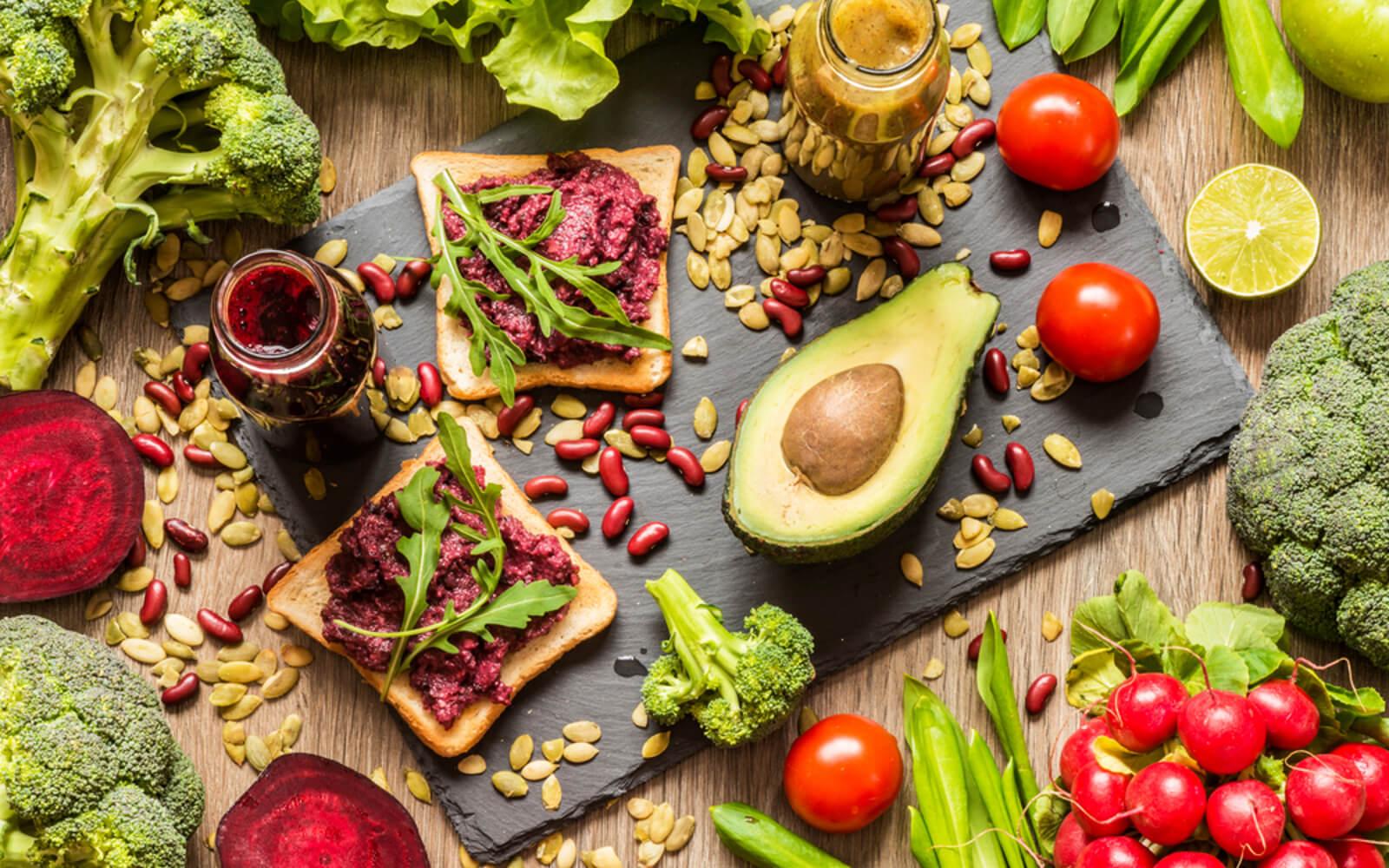 kan yapan vegan yiyecekler