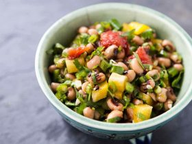 ananaslı kuru börülce salatası