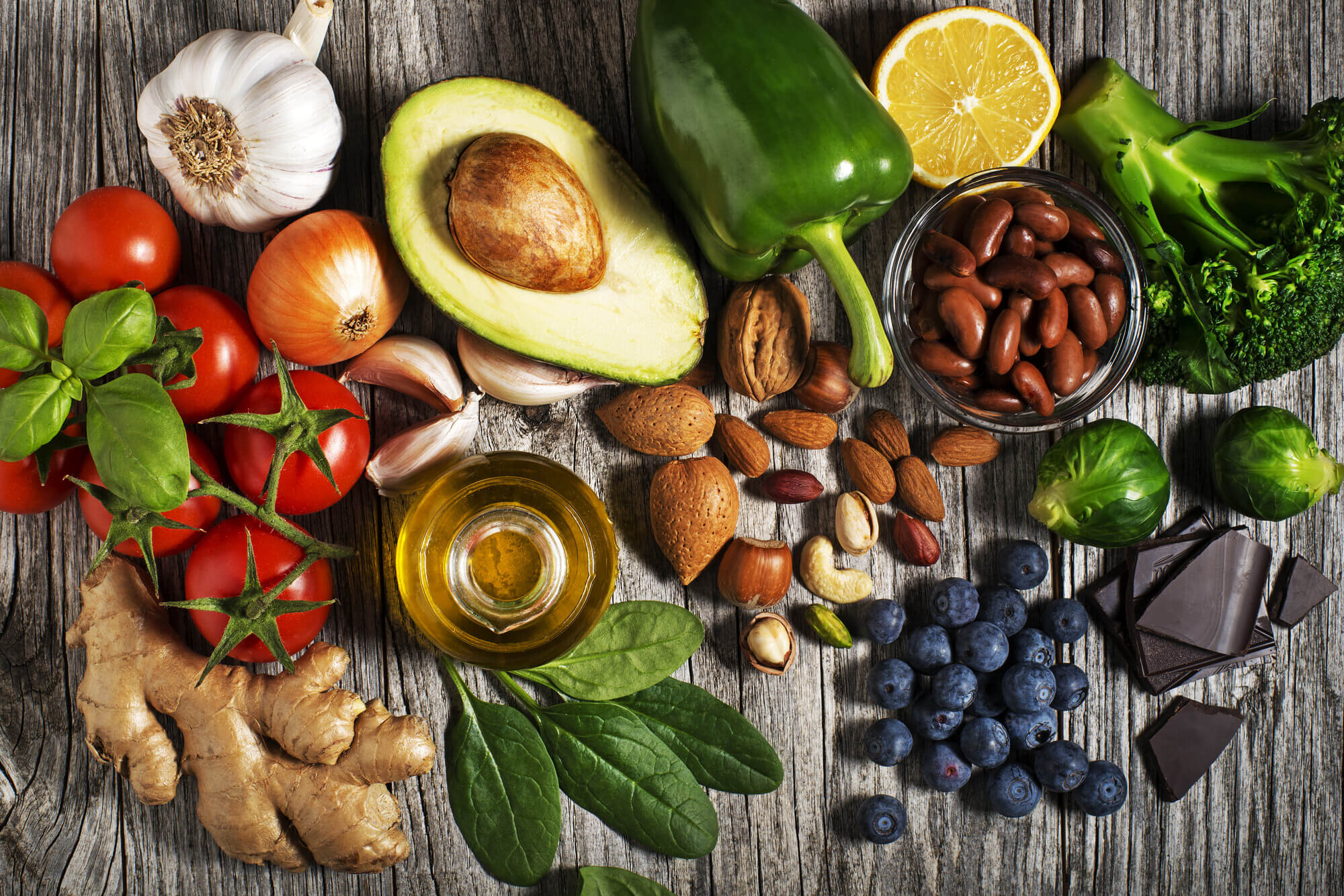 antioksidan kaynağı vegan yiyecekler