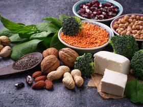 fosfor içeren vegan yiyecekle