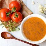 yulaflı domates çorbası